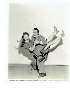 Genevieve Grazis and Johnny Duncan Universal Pictures Co. Studio shot 1943